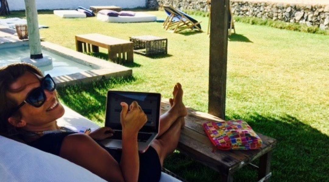 La vie de Digital nomad: une révolution pour Magdalena!