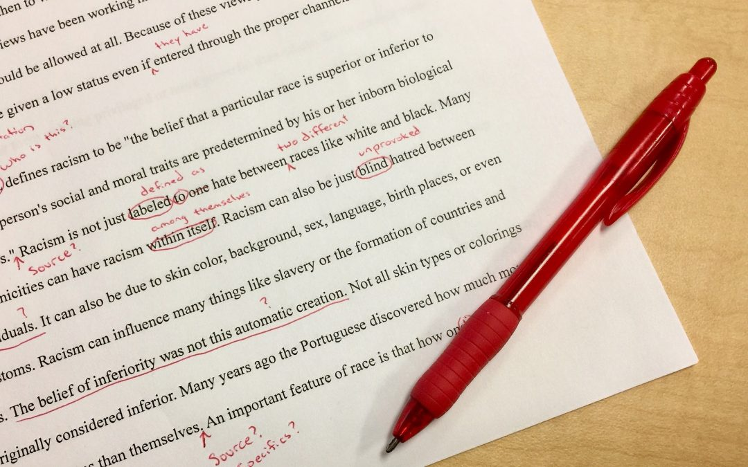 Proofreading for Dummies