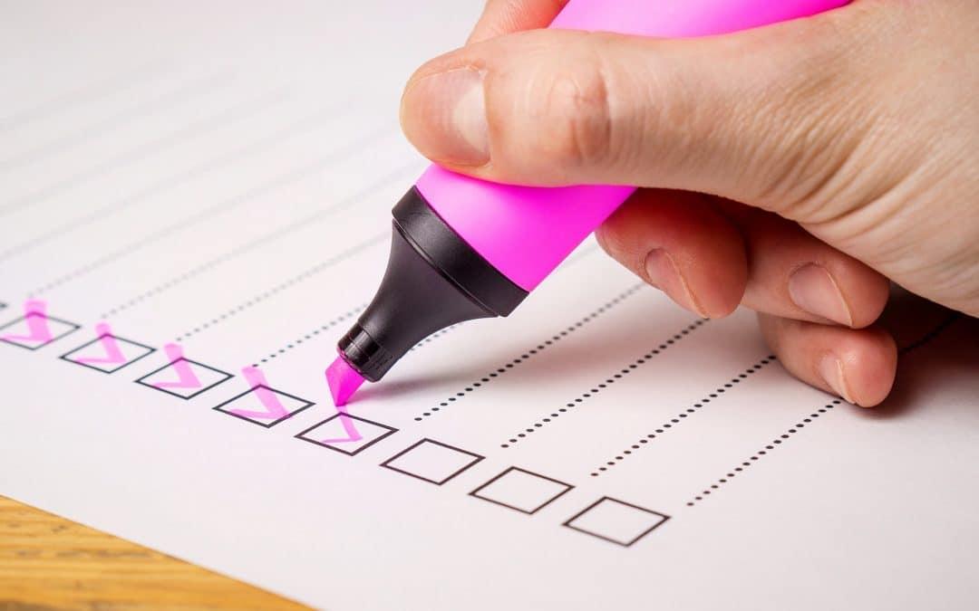 La checklist de fin de projet : les 4 commandements à suivre avant de livrer une traduction